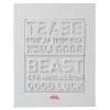 สินค้านักร้องเกาหลี BEAST 6TH MINI ALBUM - GOOD LUCK (WHITE VERSION) CD + POSTER