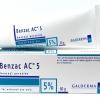 Benzac AC เบนแซค เอซี ครีมทารักษาสิว