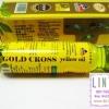 THAI HERBAL GOLD CROSS YELLOW OIL 15 ml. น้ํามันเหลืองตรากากบาททอง น้ำมันเหลืองโกลด์รอส
