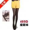 ถุงน่องขาเรียวกระชับต้นขา ขจัดไขมันส่วนเกินสะสม ความหนา 480D ขนาดฟรีไซต์ M-L