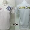 เสื้อโปโล ทีมชาติไทย ลาย Champions 2015 สีขาว TECW