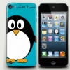 Add Name Penguin Blue iPod touch5 Case