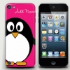 Cute Penguin Bright Pink iPod touch5 Case