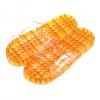 K012-OR**พร้อมส่ง** (ปลีก+ส่ง) รองเท้านวดสปา เพื่อสุขภาพ ปุ่มเล็ก (ใส) สีส้ม ส่งคู่ละ 80 บ.