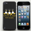 One by one,the Penguins iPod touch5 Case