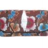 กระเป๋าสตางค์ปลากระเบน แบบ 3 พับ เม็ดใหญ่ ลวดลาย ดอกไม้และผีเสื้อ หลากหลายสีสัน Line id : 0853457150