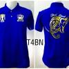 เสื้อโปโล ทีมชาติไทย ลายช้างศึกทรงเครื่อง สีน้ำเงิน T4BN