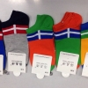 S602 **พร้อมส่ง** (ปลีก+ส่ง) ถุงเท้าแฟชั่น ข้อตาตุ่ม คละ 5 สี เนื้อดี งานนำเข้า มี 10 คู่ต่อแพ็ค