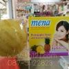Mena Herbal soap - สบู่มีนา สับปะรด สูตรสครับธรรมชาติ ขนาด 150 กรัม