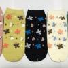 S605 **พร้อมส่ง** (ปลีก+ส่ง) ถุงเท้าแฟชั่น ข้อตาตุ่ม คละ 5 สี เนื้อดี งานนำเข้า มี 10 คู่ต่อแพ็ค