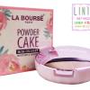 La Bourse Powder Cake With Collagen moisture & smooty 10 g. ลาบูสส์ พาวเดอร์ เค้ก วิธ คอลลาเจน 10 กรัม
