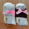 S240**พร้อมส่ง** (ปลีก+ส่ง) ถุงเท้าแฟชั่นเกาหลี ข้อยาว คละ 2 สี เนื้อดี งานนำเข้า(Made in China)
