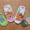 A022 **พร้อมส่ง**(ปลีก+ส่ง) ถุงเท้าแฟชั่นเกาหลี แบบลายการ์ตูน น่ารัก เนื้อดี งานนำเข้า( Made in Korea)