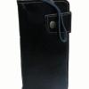 กระเป๋าสตางค์ยาว หนังวัวแท้ สีดำ แบบมัน เรียบง่าย ทันสมัย คุ้มค่า ด้วยช่องใส่บัตรต่างๆหลายช่อง