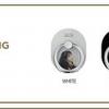 """ของหน้าคอน แทยอน TAEYEON SPECIAL LIVE """"The Magic of Christmas Time"""" -Style Ring แบบสีดำ"""