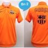 เสื้อโปโล บาร์เซโลน่า สีส้ม BN2
