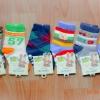 U040-8**พร้อมส่ง** (ปลีก+ส่ง) ถุงเท้าเด็กชายวัย 1-2 ขวบ COCO & BU (ขนาด 12-14 cm.) มีกันลื่น เนื้อดี งานนำเข้า ( Made in China)