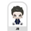 GOT7 - GOTOON BABY FIGURE (TURBULENCE VER.) ระบุ JB