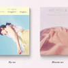 Tae Yeon แทยอน - Album Vol.1 [My Voice] (Deluxe Edition)แบบ set 2 หน้าปก Blossom ver และ sky ver