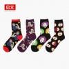 S377**พร้อมส่ง** (ปลีก+ส่ง) ถุงเท้าแฟชั่นเกาหลี ชาย ข้อยาว เนื้อดี งานนำเข้า(Made in china)