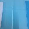 ผ้าฝ้าย cotton 100% สีฟ้าสด