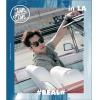 JUN JIN - Mini Album Vol.2 Repackage [#REAL# IN LA] + โปสเตอร์พร้อมกระบอกโปสเตอร์