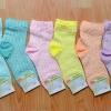 S193**พร้อมส่ง** (ปลีก+ส่ง) ถุงเท้าแฟชั่นเกาหลี ข้อยาว ลายไทย เนื้อดี งานนำเข้า(Made in China)