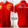 เสื้อโปโล ทีมชาติไทย ลายธงไตรรงค์ สีแดง TEXR