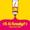 Lovelyz - Album Vol.2 [R U Ready?] + โปสเตอร์ พร้อมกระบอกโปสเตอร์ พร้อมส่ง
