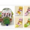 S622**พร้อมส่ง** (ปลีก+ส่ง) ถุงเท้าแฟชั่น เกาหลี ข้อยาว คละ 5 สี 10 คู่ต่อแพ็ค เนื้อดี งานนำเข้า(Made in China)