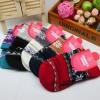 S362**พร้อมส่ง** (ปลีก+ส่ง) ถุงเท้าแฟชั่นเกาหลี ข้อยาว คละ 5 สี มี 12 คู่ต่อแพ็ค เนื้อดี งานนำเข้า(Made in China)