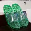 K022-GR **พร้อมส่ง** (ปลีก+ส่ง) รองเท้านวดสปา เพื่อสุขภาพ ปุ่มแม่เหล็ก สีเขียว ส่งคู่ละ 190 บ.
