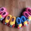 U017**พร้อมส่ง** (ปลีก+ส่ง) ถุงเท้ากึ่งรองเท้า สำหรับวัยหัดเดิน (1-2 ปี) มีกันลื่น เนื้อดี งานนำเข้า ( Made in China)