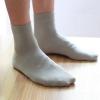 P006 **พร้อมส่ง** (ปลีก+ส่ง) ถุงเท้าเพื่อสุขภาพ ผลิตจากเส้นใยไผ่ (bamboo fiber) ถุงเท้าธุรกิจข้อยาว คละ 4 สี มี 12 คู่ต่อแพ็ค เนื้อดี งานนำเข้า(Made in China)
