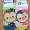 A032**พร้อมส่ง**(ปลีก+ส่ง) ถุงเท้าแฟชั่นเกาหลี จมูก 3 มิติ ลายลิง มี 2 สี เขียว ชมพู เนื้อดี งานนำเข้า( Made in Korea)