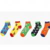 S381 **พร้อมส่ง** (ปลีก+ส่ง) ถุงเท้าแฟชั่นเกาหลี ข้อสั้น เนื้อดี งานนำเข้า(Made in china)
