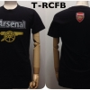 เสื้อยืด อาร์เซน่อล สีดำ T-RCFB