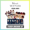 "VICTON 1ST FANMEETING ""WELCOME TO VICTON CLASS"" GOODS :STICKER BROCHURE SET"