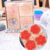 [B4] ตัวปั้ม-Sweet Flowers Stamp set