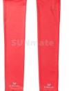 ปลอกแขนกันUV size L : Red scarlet