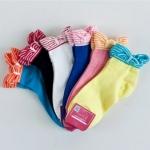 [ของหมด] ถุงเท้าเกาหลีข้อสั้นมีระบาย
