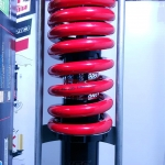 (LS 125)โช้คอัพหลังเดี่ยว YSS รุ่น DTG (ไฮบริด) สำหรับ Honda LS 125 R สี ดำ/แดง