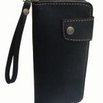 กระเป๋าสตางค์ยาว หนังวัวแท้ สีน้ำตาลเข้ม แบบด้าน เรียบง่าย ทันสมัย คุ้มค่า ด้วยช่องใส่บัตรต่างๆหลายช่อง