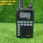 UC-6R VHF 136-174 MHz. 1-3 วัตต์ ขนาดเล็กมากเท่าบัตร ATM