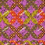 wb0194C ไทยรวมดอกเข็ม ชุดสีอ่ำ