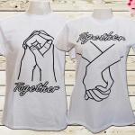 เสื้อคู่รัก จับมือกันตลอดไป
