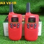 โปรชุดคู่ HIMAX VX-1R มี ปท. วิทยุสื่อสารเครื่องแดงยกเว้นใบอนุญาติ