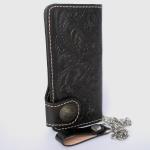 กระเป๋าสตางค์ยาวสีดำ พร้อมโซ่ Line id : 0853457150