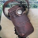 ซองหนังใส่กระเป๋าหนังแท้ ซองสีน้ำตาลเข้ม Line id : 0853457150