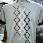 เสื้อผ้าผู้ชาย แขนสั้น Cotton เนื้อดี งานคุณภาพ รหัส MC1642 (Size M)